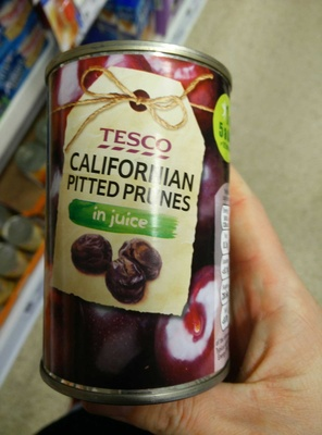 Californian pitted prunes in juice - Product - en