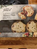 Tesco Finest Mince Pies 6 Pack - Nutrition facts - en