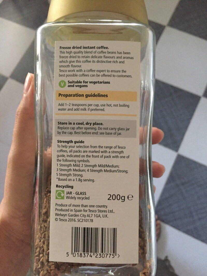 Tesco Gold Coffee 200g 200 G
