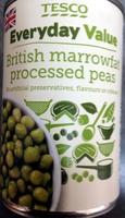 British marrowfat processed peas - Product