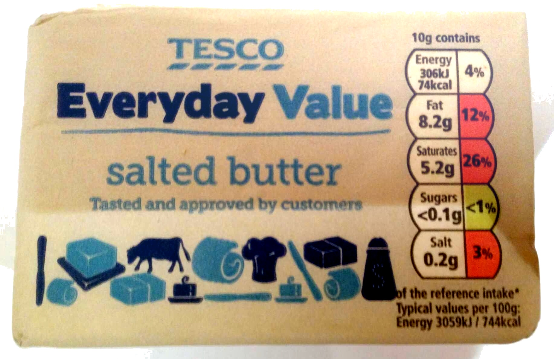 salted butter - Product - en