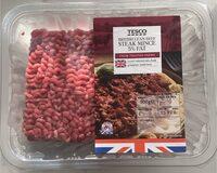 British Lean Beef Steak Mince - Product - en