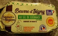 Beurre d\'Isigny au sel de Guérande - Produit - fr