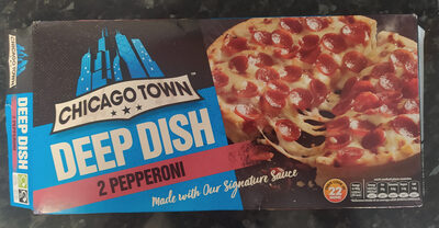 2 Deep Dish Pepperoni Pizzas - Product - en