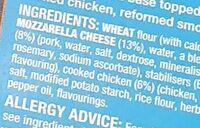 Chicken Club - Ingredienti - en