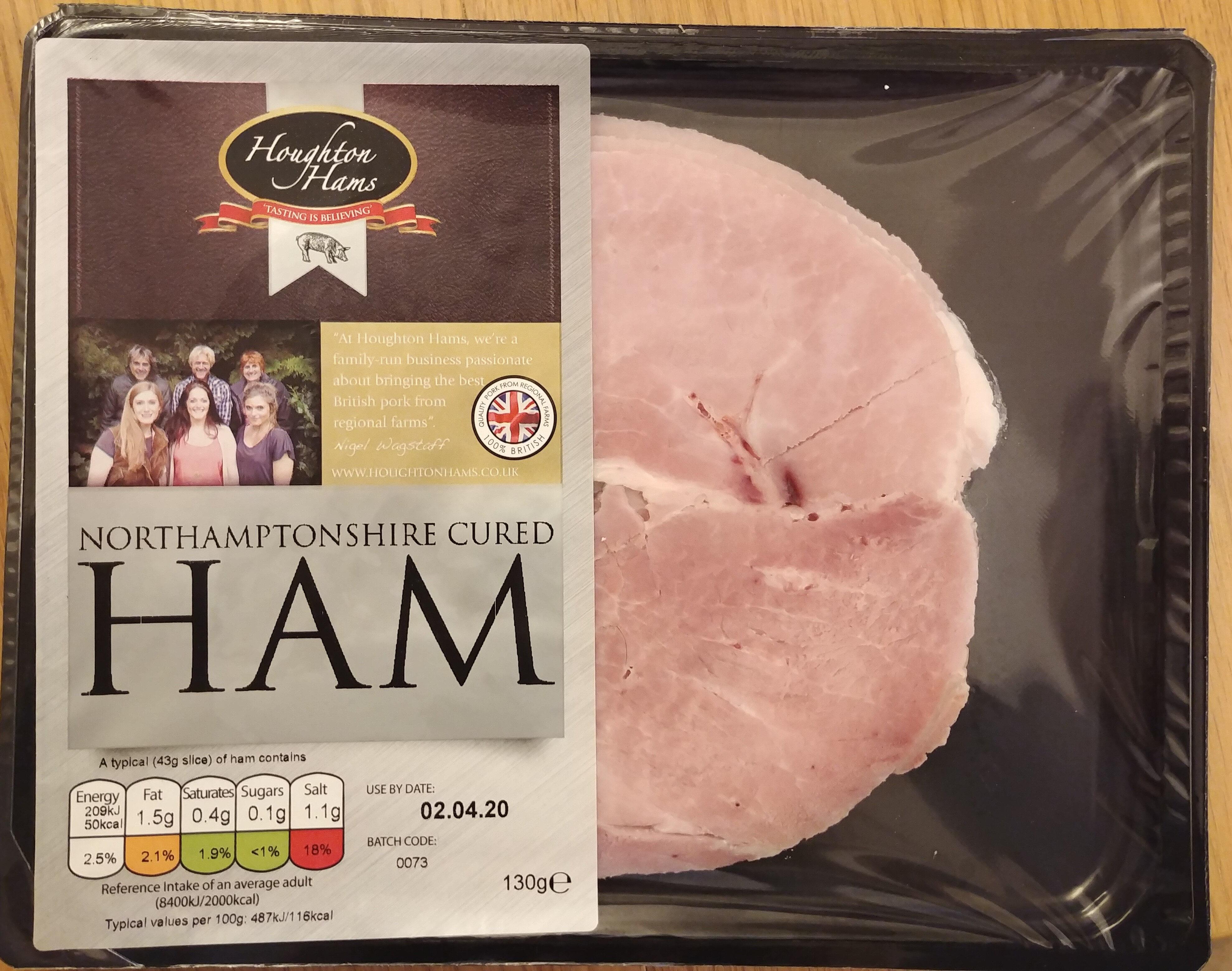 Northamptonshire Cured Ham - Produit - en