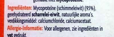 Dés - Ingredients - nl
