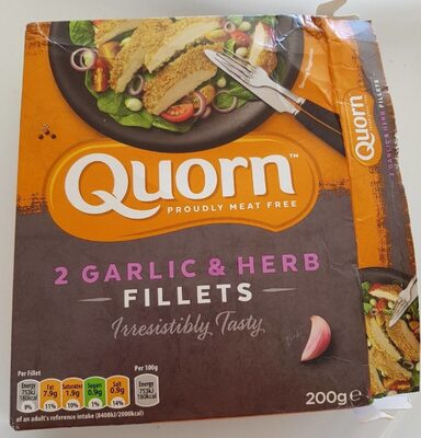 Garlic and herb fillets - Produit - fr