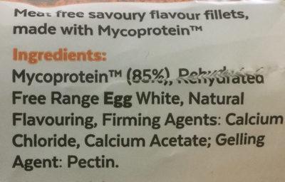 Fillets - Ingredients