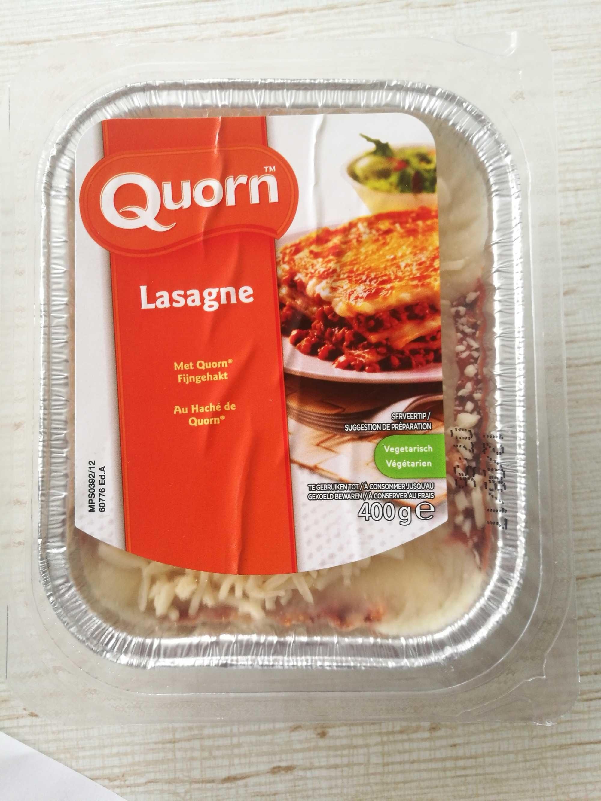 Lasagne Quorn - Product - fr