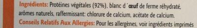 Filets végétarien - Ingrédients - fr