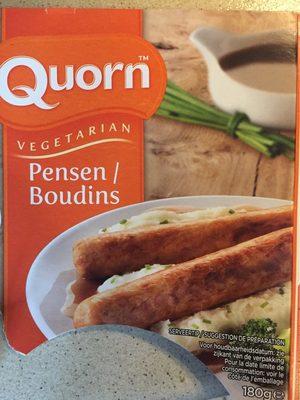 Boudins Vegetarien - Produit - fr