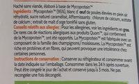 Hache - Ingrediënten - fr