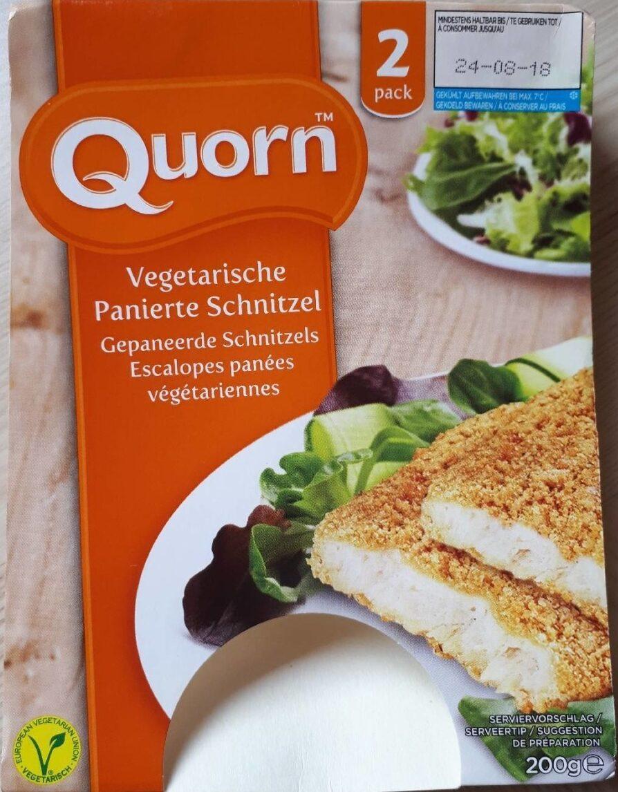 Vegetarische Panierte Schnitzel - Produkt - de