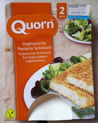 Vegetarische Panierte Schnitzel - Produit - fr