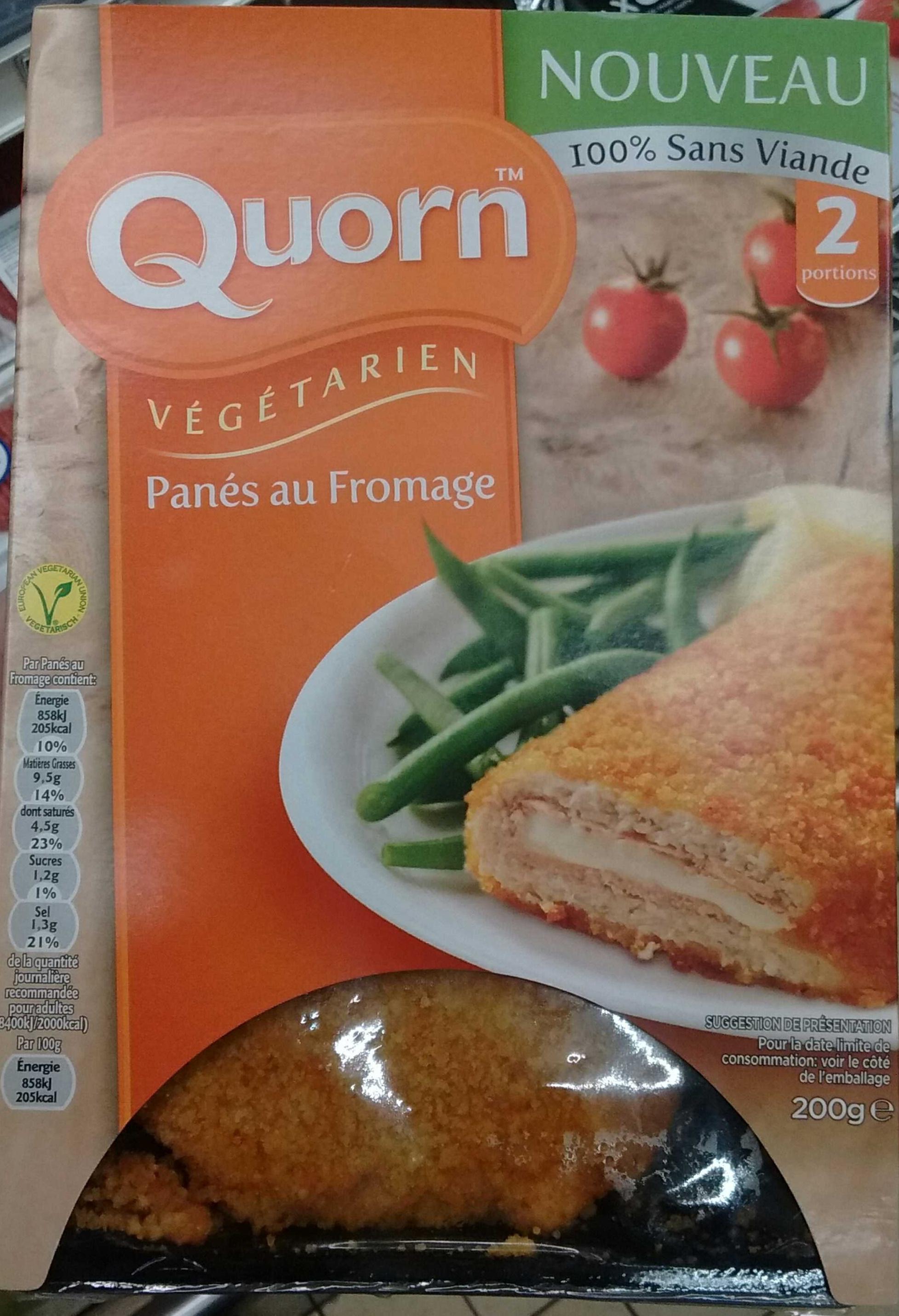 Panés au Fromage végétarien - Produit - fr