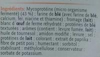 Panés au Fromage végétarien - Ingrédients - fr