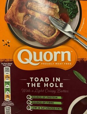 Quorn toad in the hole - Produit - en