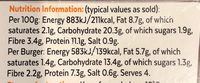 Hot & Spicy Burgers - Informations nutritionnelles - fr