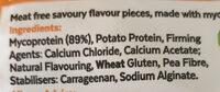 Quorn - Ingrédients - en