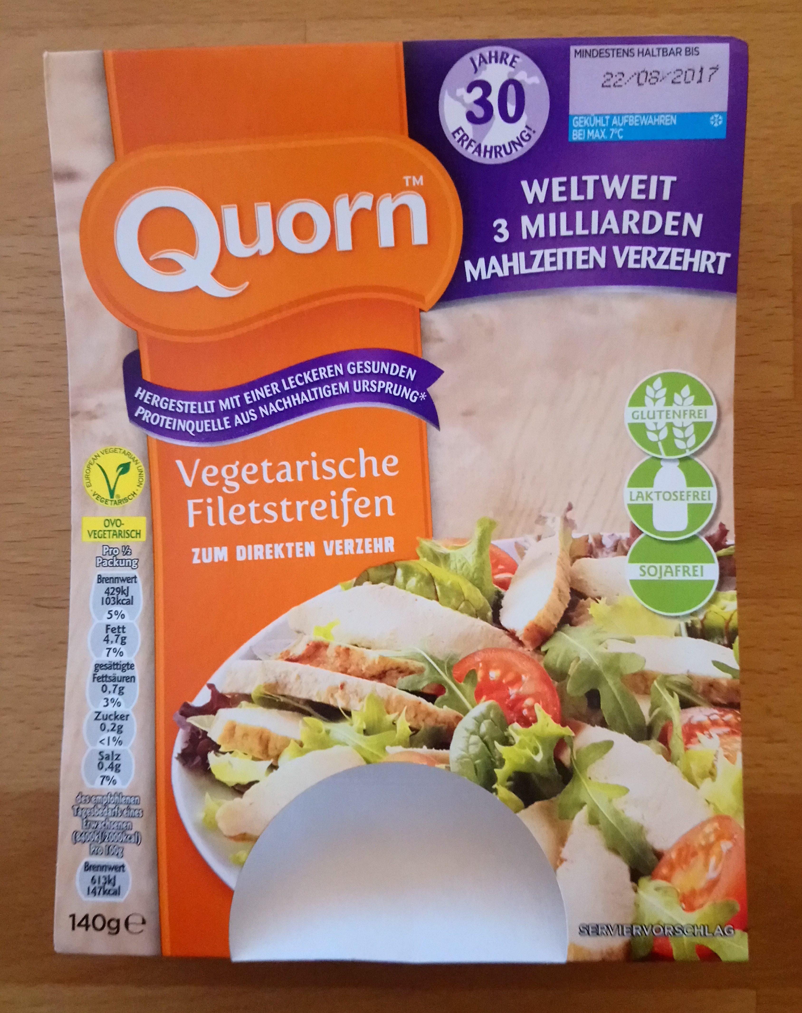 Vegetarische Filetstreifen - Produkt - de