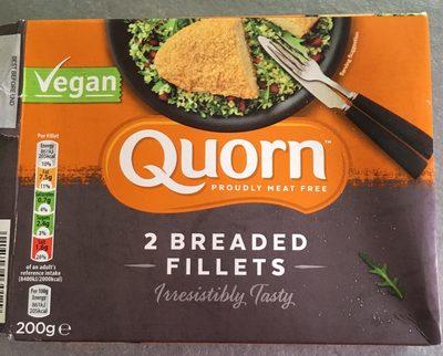 Quorn 2 breaded fillets - Produit - fr