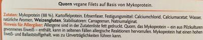 Vegane Filets - Ingrediënten - de