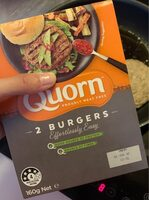 Meat Free Burgers - Product