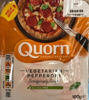 Vegetarian Pepperoni - Produit