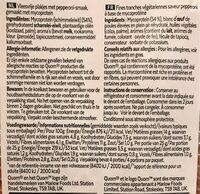 Vegetarian Pepperoni - Informations nutritionnelles - fr