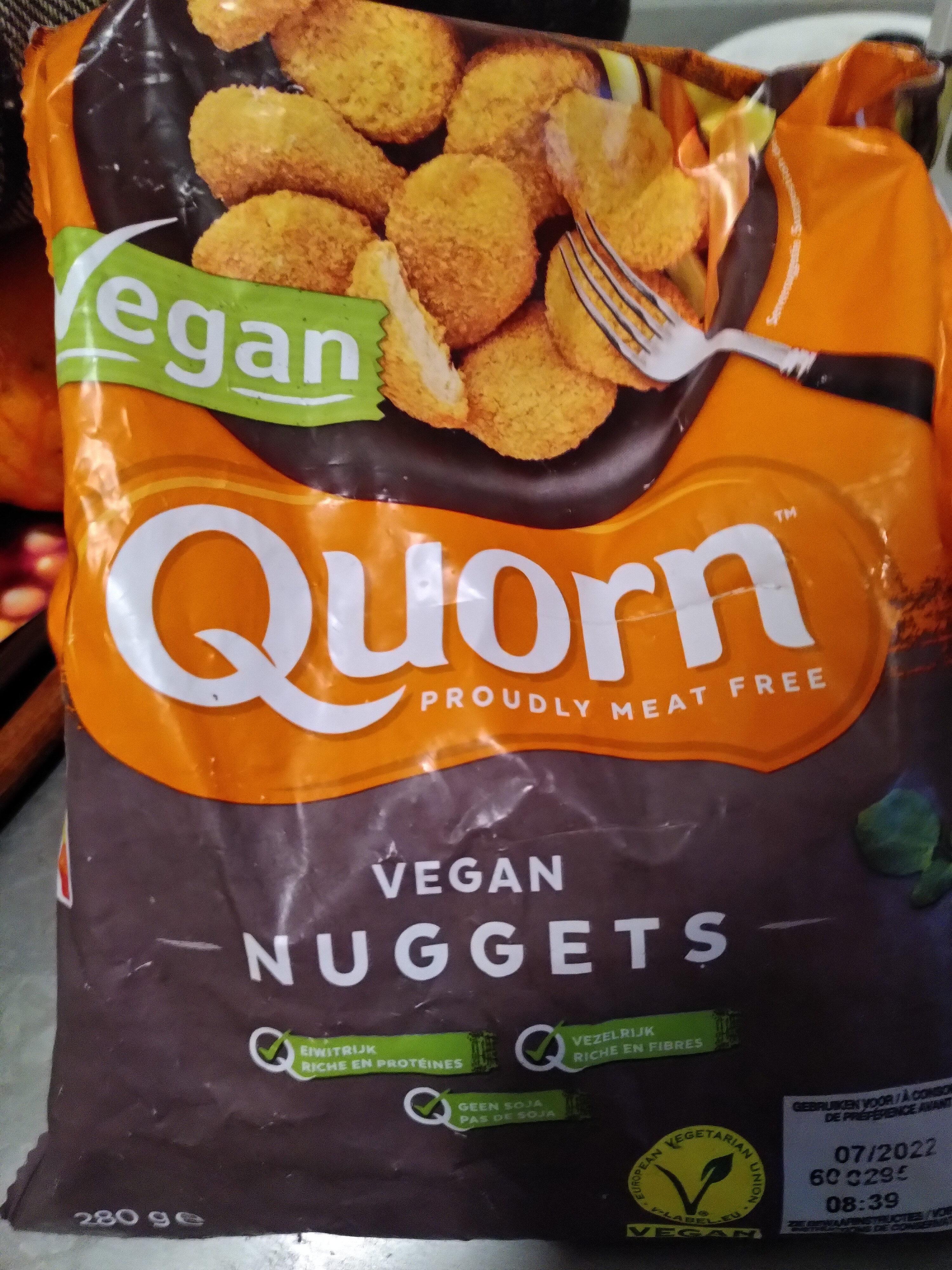 Quorn vegan nuggets - Product - nl