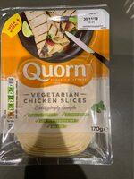 Vegeterian chicken slices - Produit - en