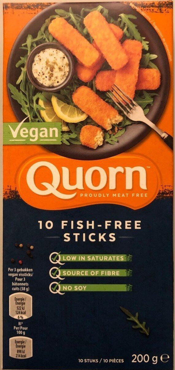 Fish-free sticks - Product - fr