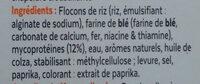 Fish-free sticks - Ingrediënten - fr