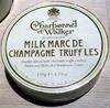 Milk Marc de Champagne Truffles - Produit
