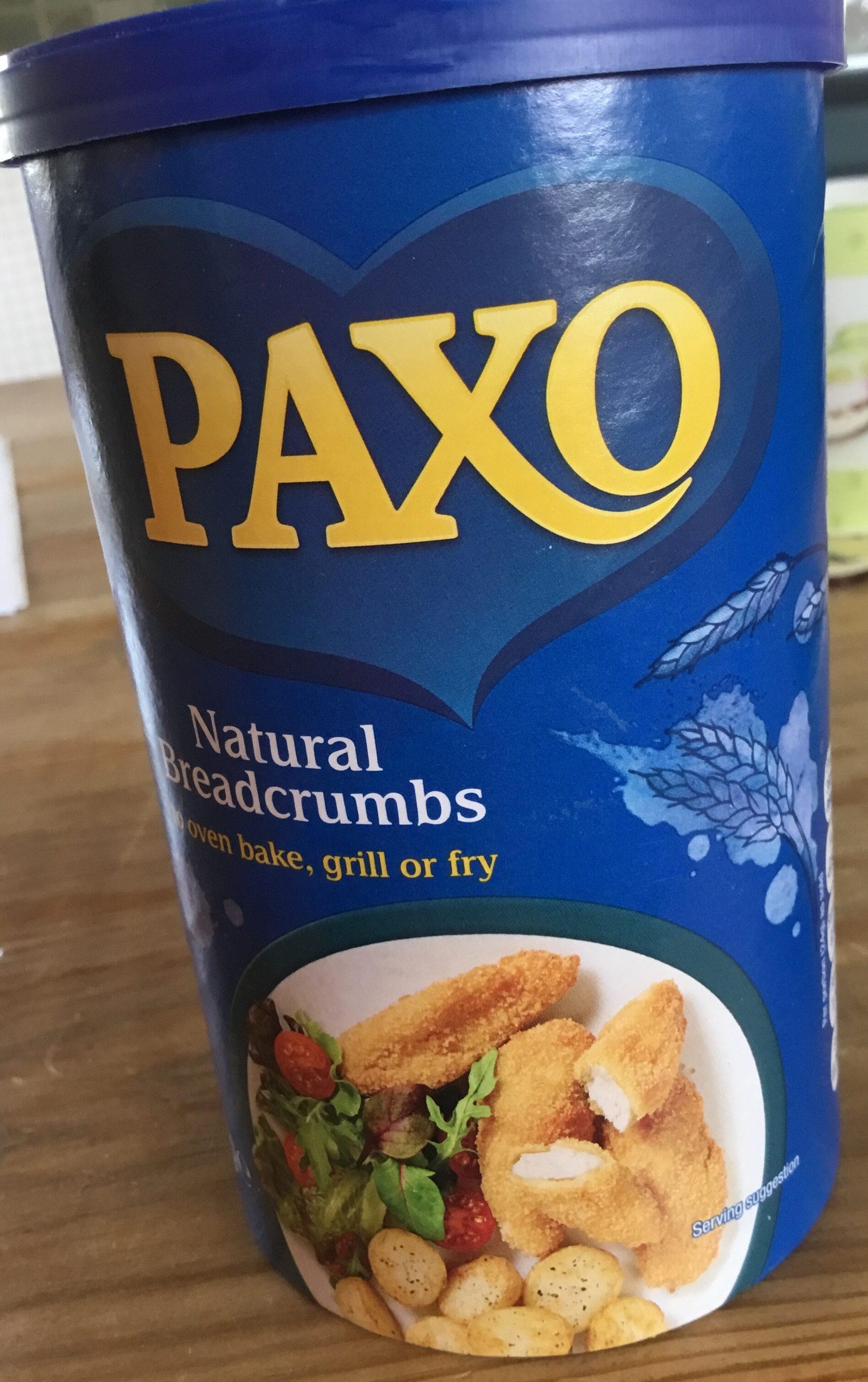 Paxo natural breadcrumbs - Produit - en