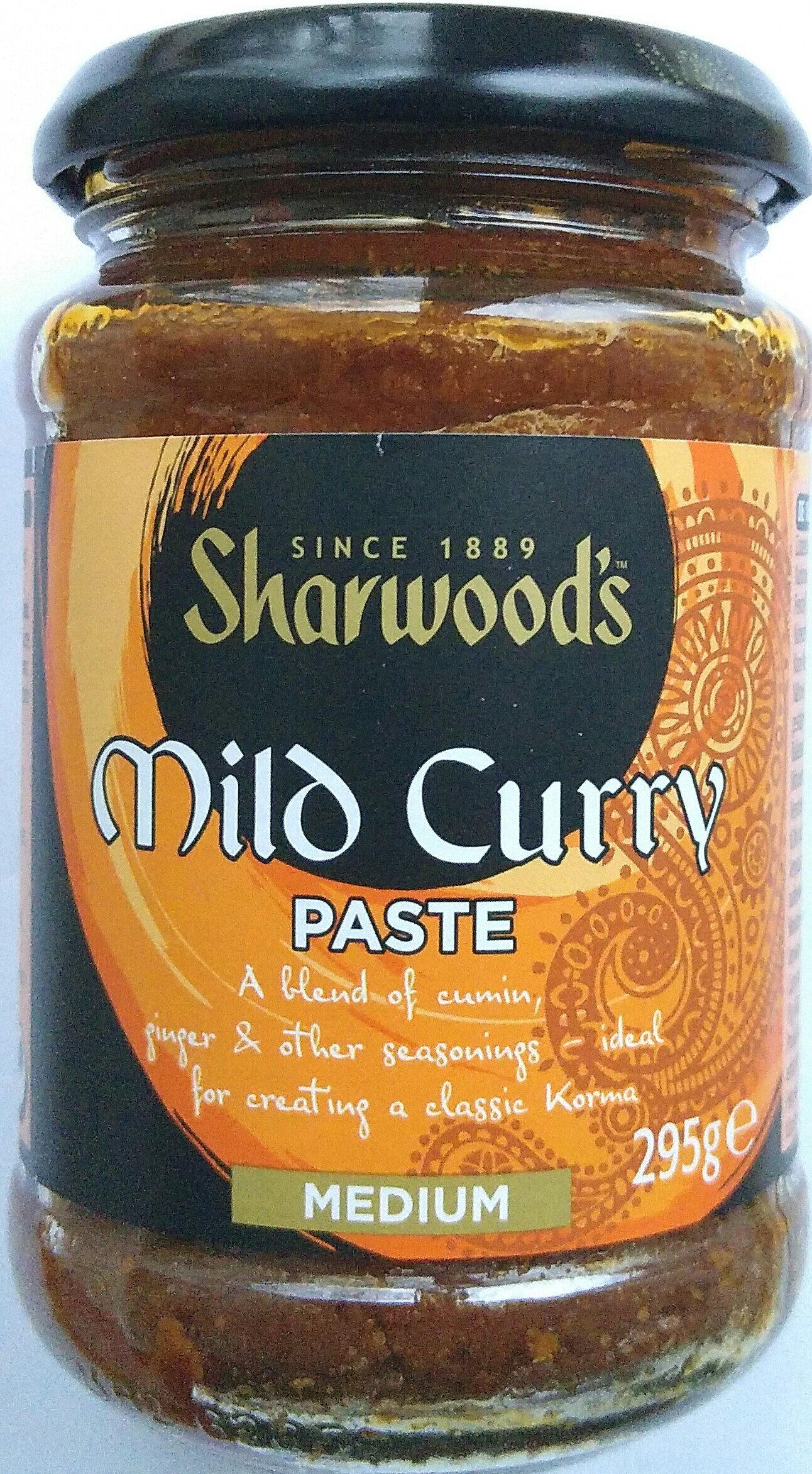 Mild Curry Paste - Product - de
