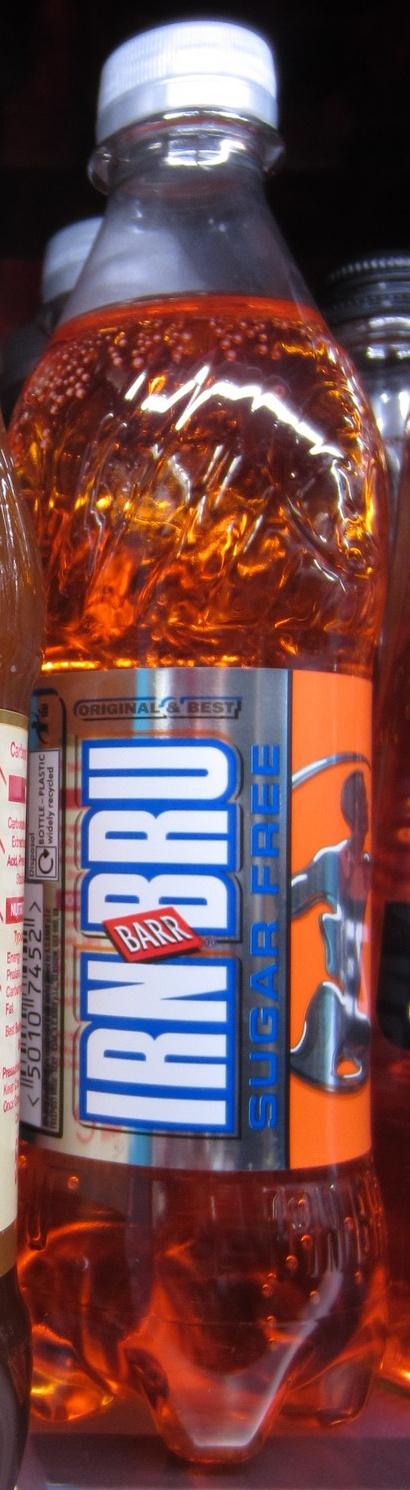 IRN BRU Sugar Free - Produit