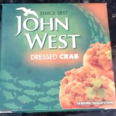 John West Dressed Crab - Product - en