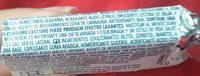 Chicles Orbit Fresa Grajeas 10UDS 14GRS - Ingredientes