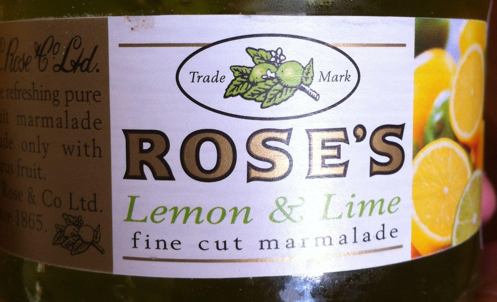 Fine cut marmelade lemon & lime - Product - fr