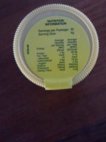 Marmite - Nutrition facts