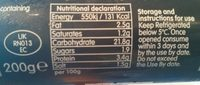 VPud - Nutrition facts