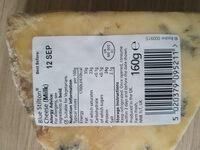 blue stilton cheese - Ingredients