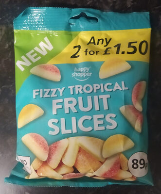 Fizzy Tropical Fruit Slices - Product - en