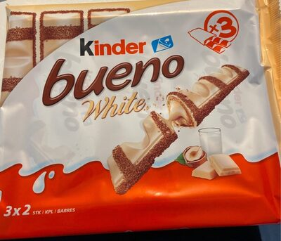 Kinder bueno white - Product - en