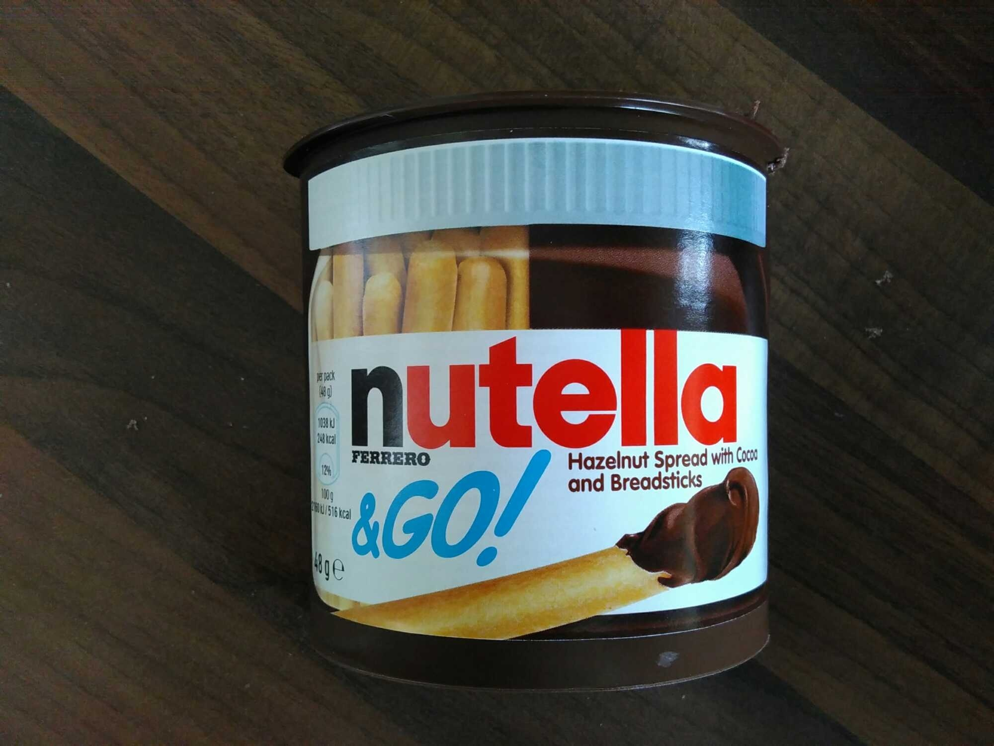 Nutella & Go! - Product - en
