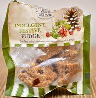 Indulgent Festive Fudge - Product