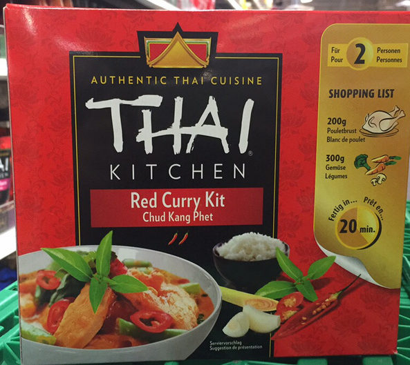 Authentic Red Curry Kit Thai Kitchen 600 G