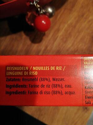 Rice Noodles - Ingredienti - fr